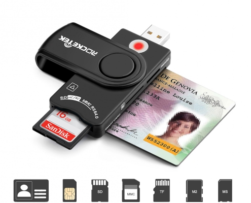 CAC smart card reader